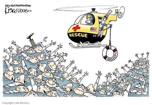 Lisa Benson  Lisa Benson's Editorial Cartoons 2008-10-10 stock market