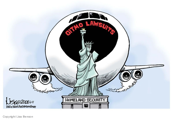 Lisa Benson  Lisa Benson's Editorial Cartoons 2008-06-17 civil liberty