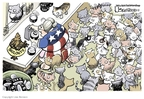 Cartoonist Lisa Benson  Lisa Benson's Editorial Cartoons 2008-11-12 cat