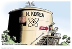 Cartoonist Lisa Benson  Lisa Benson's Editorial Cartoons 2009-07-08 North Korea