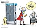 Cartoonist Lisa Benson  Lisa Benson's Editorial Cartoons 2009-09-03 approval