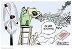 Cartoonist Lisa Benson  Lisa Benson's Editorial Cartoons 2010-02-17 climate