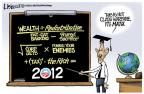 Cartoonist Lisa Benson  Lisa Benson's Editorial Cartoons 2011-09-20 president
