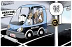 Cartoonist Lisa Benson  Lisa Benson's Editorial Cartoons 2012-04-13 2012 election economy