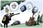 Cartoonist Lisa Benson  Lisa Benson's Editorial Cartoons 2013-01-30 gun