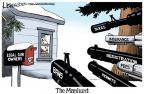 Cartoonist Lisa Benson  Lisa Benson's Editorial Cartoons 2013-02-13 gun