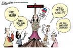Cartoonist Lisa Benson  Lisa Benson's Editorial Cartoons 2014-01-25 how