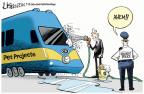 Cartoonist Lisa Benson  Lisa Benson's Editorial Cartoons 2014-07-19 California train