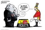 Lisa Benson  Lisa Benson's Editorial Cartoons 2007-08-01 2008 debate