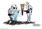 Cartoonist Lisa Benson  Lisa Benson's Editorial Cartoons 2008-04-11 2008 Olympics