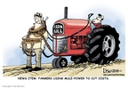 Cartoonist Lisa Benson  Lisa Benson's Editorial Cartoons 2008-05-23 agriculture tax