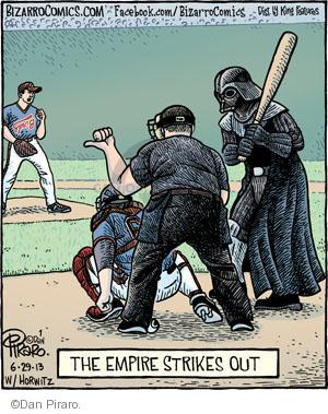 The Empire Strikes Out.