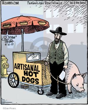 Artisanal Hot Dogs.