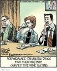 Cartoonist Dan Piraro  Bizarro 2009-03-24 performance-enhancing drug