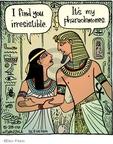 Cartoonist Dan Piraro  Bizarro 2009-05-28 Egypt