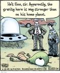 Cartoonist Dan Piraro  Bizarro 2009-06-10 planet