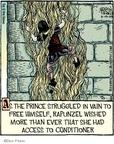 Cartoonist Dan Piraro  Bizarro 2009-06-19 Rapunzel