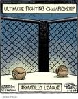 Cartoonist Dan Piraro  Bizarro 2009-11-14 league