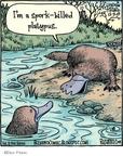 Cartoonist Dan Piraro  Bizarro 2009-12-09 spoon