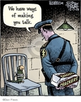 Cartoonist Dan Piraro  Bizarro 2009-12-17 station