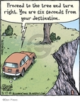 Cartoonist Dan Piraro  Bizarro 2010-02-17 directions