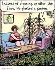 Cartoonist Dan Piraro  Bizarro 2010-03-23 gardening