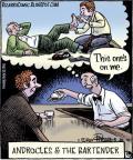 Cartoonist Dan Piraro  Bizarro 2010-05-20 favor