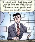 Cartoonist Dan Piraro  Bizarro 2010-06-08 White House