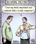 Cartoonist Dan Piraro  Bizarro 2010-06-19 trash