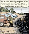 Cartoonist Dan Piraro  Bizarro 2010-07-01 gas