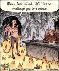 Cartoonist Dan Piraro  Bizarro 2010-07-15 challenge