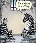 Cartoonist Dan Piraro  Bizarro 2010-10-23 justice