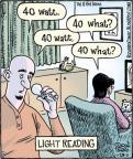 Cartoonist Dan Piraro  Bizarro 2011-01-29 light