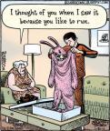 Comic Strip Dan Piraro  Bizarro 2011-01-31 rabbit