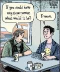 Cartoonist Dan Piraro  Bizarro 2011-04-19 french