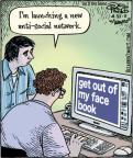 Cartoonist Dan Piraro  Bizarro 2011-04-21 Facebook