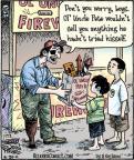 Cartoonist Dan Piraro  Bizarro 2011-06-20 worry