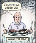 Cartoonist Dan Piraro  Bizarro 2011-06-23 shape