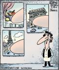 Cartoonist Dan Piraro  Bizarro 2011-07-25 french