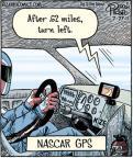 Cartoonist Dan Piraro  Bizarro 2011-07-27 directions