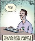 Cartoonist Dan Piraro  Bizarro 2011-08-10 Paul