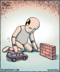 Cartoonist Dan Piraro  Bizarro 2011-09-17 boy