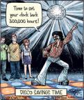 Cartoonist Dan Piraro  Bizarro 2011-11-07 Disco Ball
