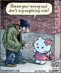 Cartoonist Dan Piraro  Bizarro 2011-12-08 character