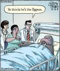 Cartoonist Dan Piraro  Bizarro 2011-12-09 song