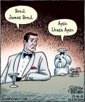 Cartoonist Dan Piraro  Bizarro 2011-12-16 character