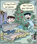 Cartoonist Dan Piraro  Bizarro 2011-12-21 boy