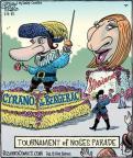 Cartoonist Dan Piraro  Bizarro 2012-01-02 parade