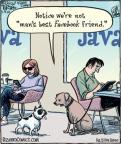 Cartoonist Dan Piraro  Bizarro 2012-01-03 Facebook