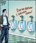 Cartoonist Dan Piraro  Bizarro 2012-01-19 wall